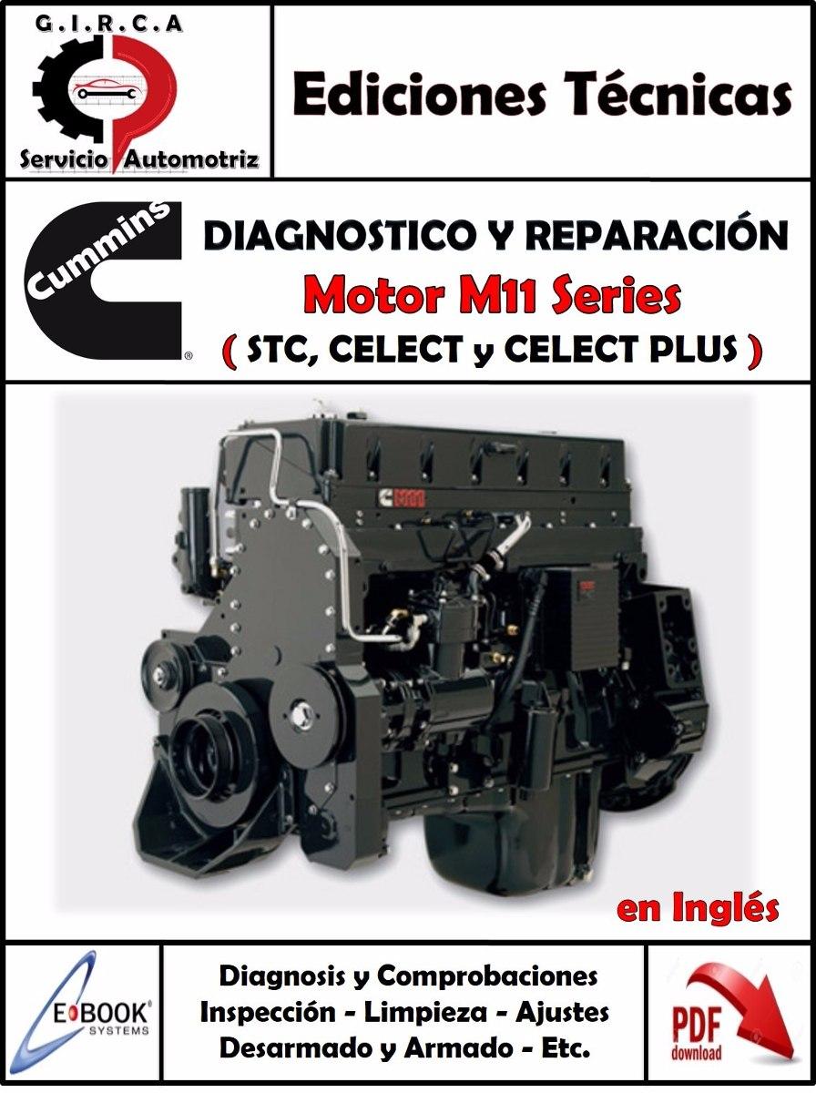 manual taller motor cummins m11 bs 65 50 en mercado libre rh articulo mercadolibre com ve manual de motor cummins m11 plus Cummins ISM Service Manual