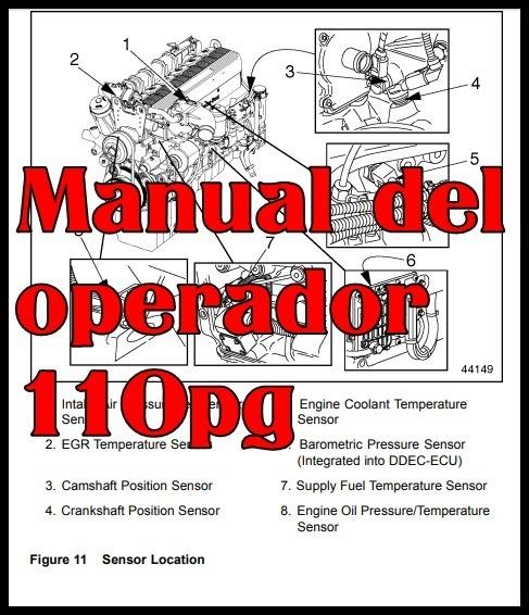 Manual Taller Motor Detroit Diesel Mbe 4000