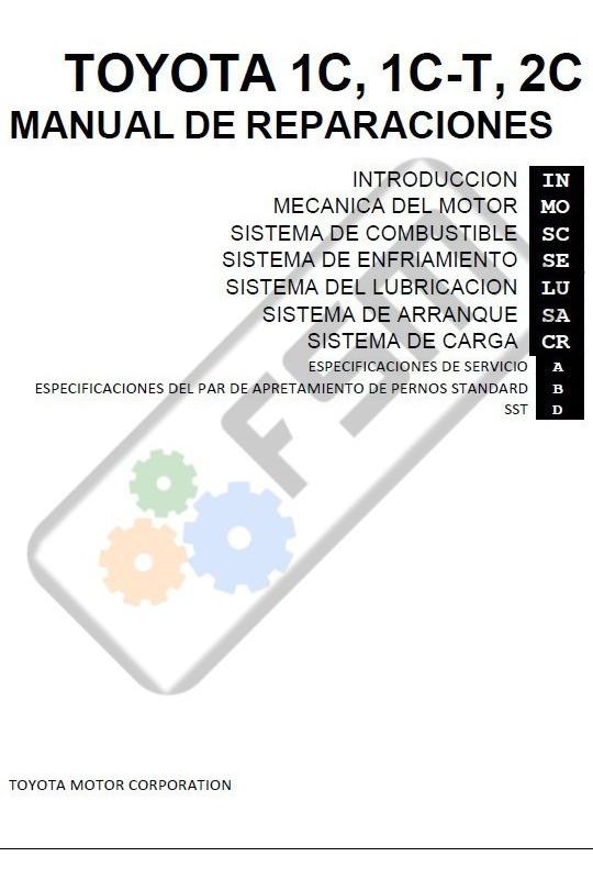 toyota 1c diesel engine manual