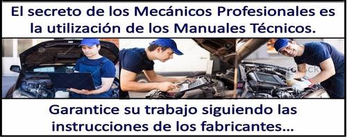 manual taller nissan mistral 1993-2006 original español