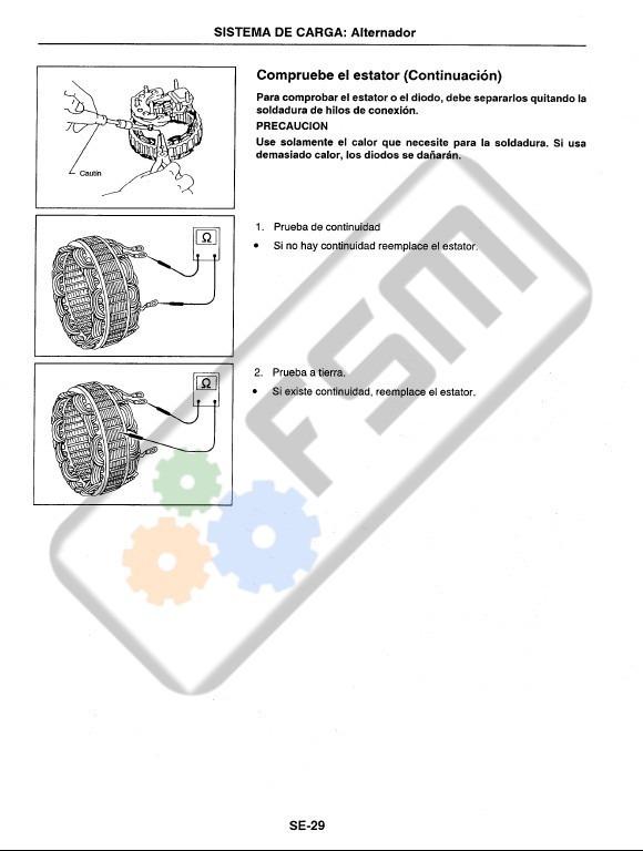 Manual Taller Nissan Sentra B13 Ga16de Diagramas