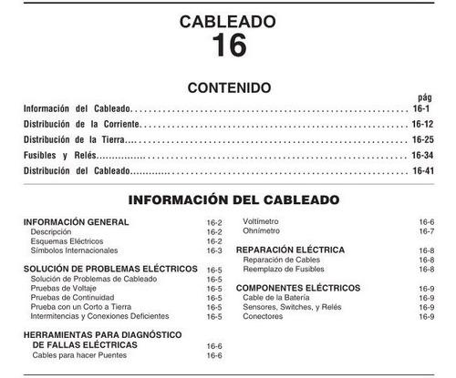 manual taller original chery orinoco español oferta