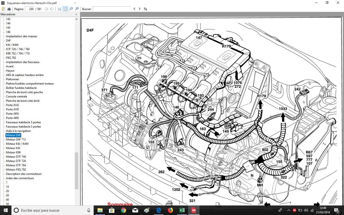 manual taller renault clio espa u00f1ol   obsequio diagramas elec