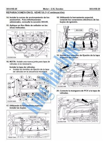 manual taller - reparacion ford fiesta 2003 - 2008 move max