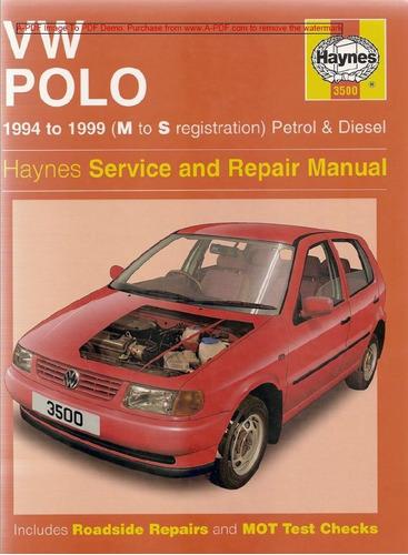 manual taller volkswagen polo 94 99