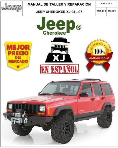 manual taller y reparacion jeep cherokee xj 94-99 en español