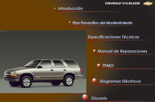 manual taller y servicio chevrolet blazer 99-04 en español