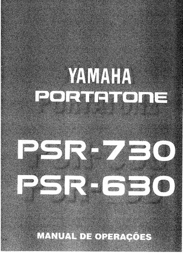 manual teclado yamaha psr-630 e 730 em português (pdf)
