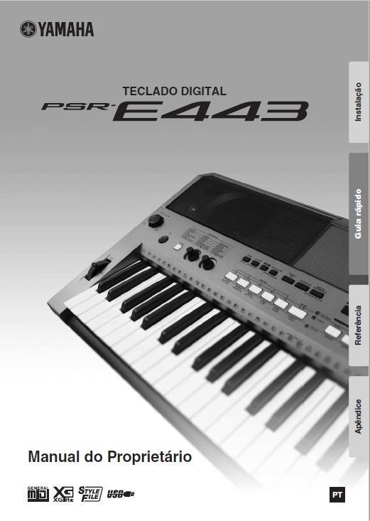 Yamaha psr-e423 sm service manual download, schematics, eeprom.