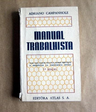 manual trabalhista - adriano campanhole