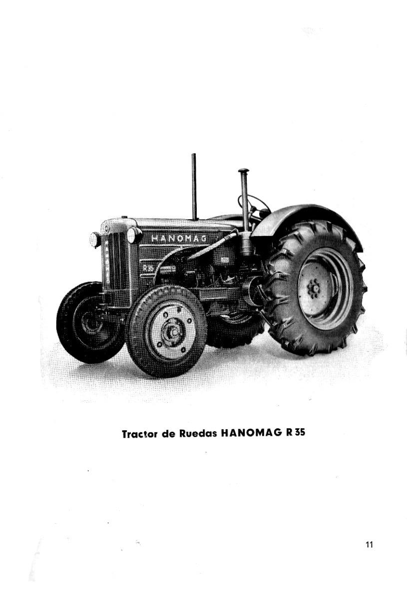 Manual Tractor Hanomag R35 (85 Páginas) En Español - $ 490,00 en ...