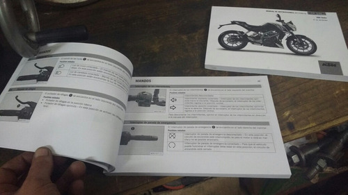 manual usuario ktm duke 390 castellano