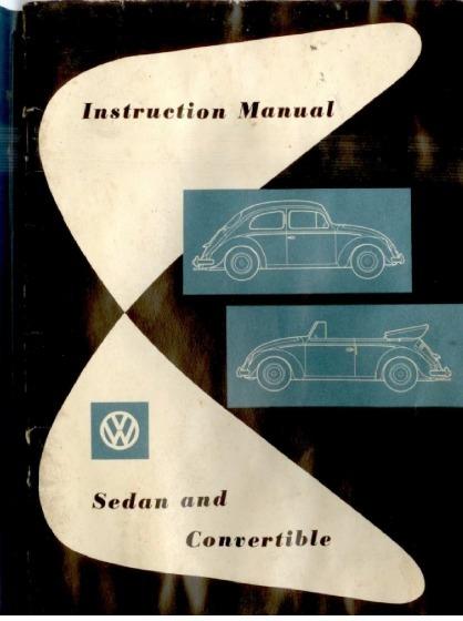 manual usuario vw escarabajo sedan y convertible abril 1958 bs 0 rh articulo mercadolibre com ve VW Escarabajo Ecuador VW Escarabajo Venta En Guayaquil