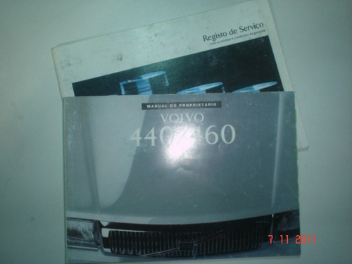 manual volvo 440 / 460 1993 original proprietario turbo car