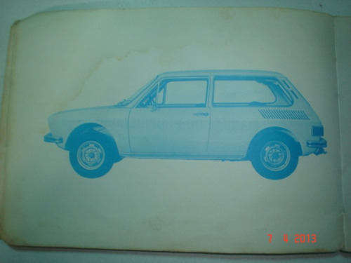 manual vw brasilia 1975 original volkswagen 1600 catalogo