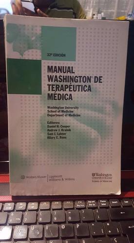 manual washington de terapeuta medica, daniel h. cooper,