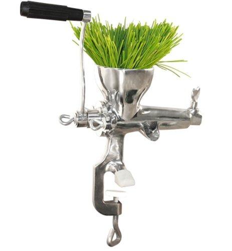 manual wheatgrass juicer weston, acero inoxidable