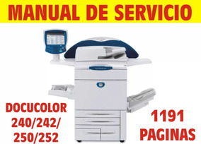 Manual Xerox Docucolor 240, 242, 250, 252