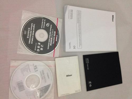 manual y software para nikon d90