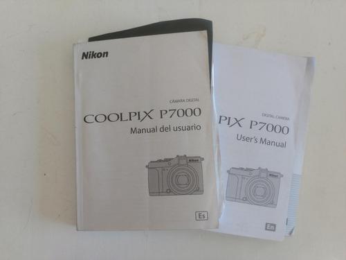 manuales cámara digital nikon coolpix p7000