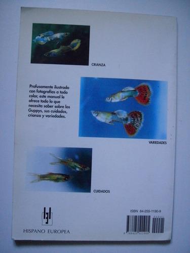 manuales de acuario - guppys cuidados, crianza y variedades