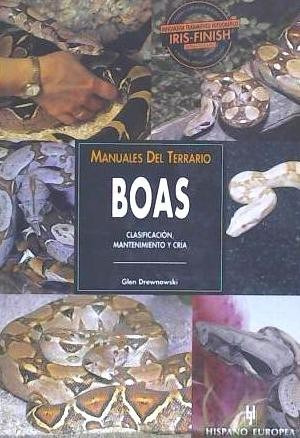 manuales del terrario. boas(libro reptiles)
