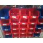 Caja Apilable Para Todo Uso Mediano Plastico 12 Unidades