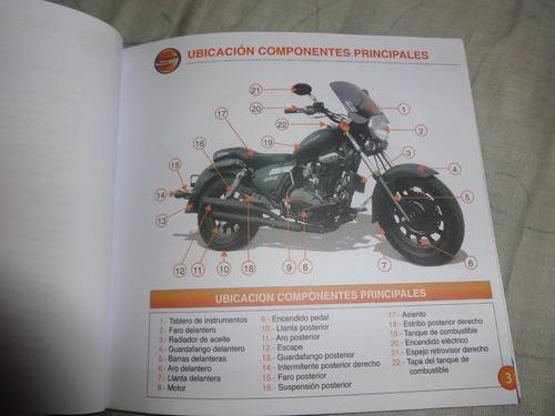 manuales moto keeway superlight 200 y terminator cruiser 250