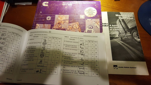 manuales originales kenworth t800