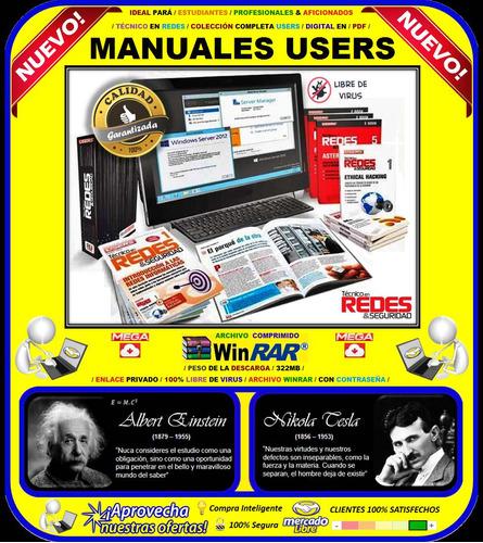 manuales users técnico en redes / colección completa /