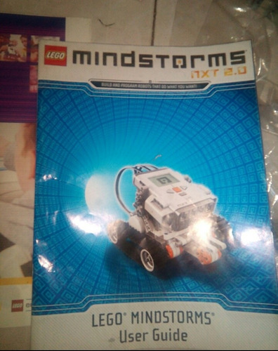 manuale,software y tapete calibrador de lego mindstorms 8547