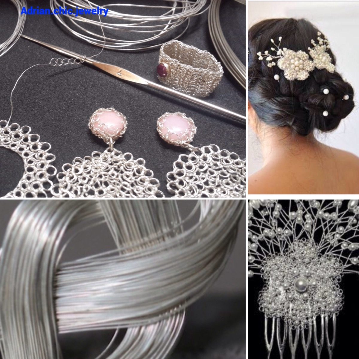 b912f9b853c4 manualidades bisuteria materiales plata hilos cintas lamina. Cargando zoom.