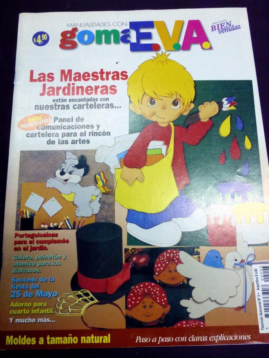 Manualidades Con Goma Eva Ediciones Bienvenidas M 70 00 En