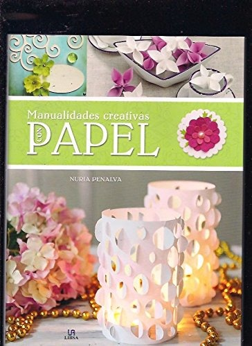Manualidades Creativas Con Papel Estilo Decorativo Nuria 1340 - Manualidades-creativas