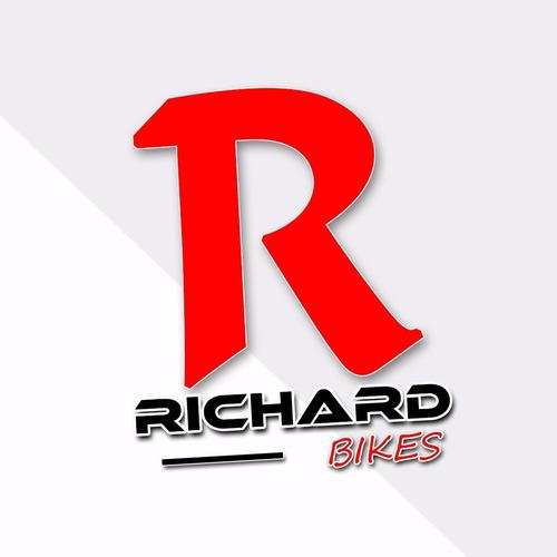 manubrio bicicleta acero cromado de paseo // richard bikes