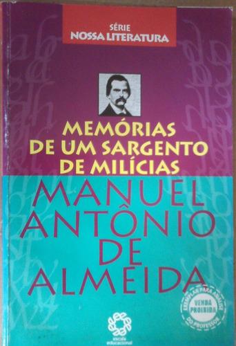 manuel antonio almeida memorias de um sargento de milicias
