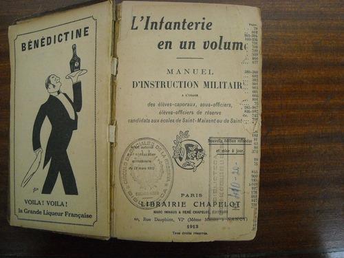 manuel d´ instruction militaire.l´infanterie en un volumen.