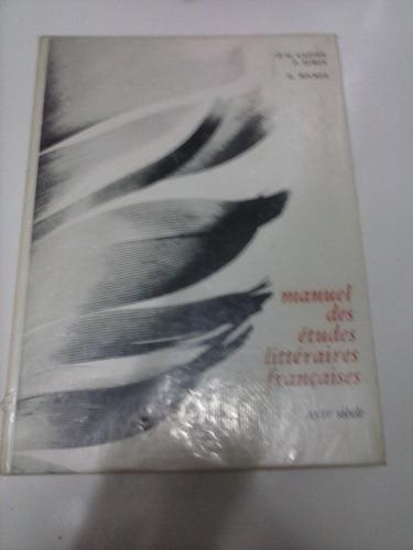manuel des études littéraires françaises xvi siecle