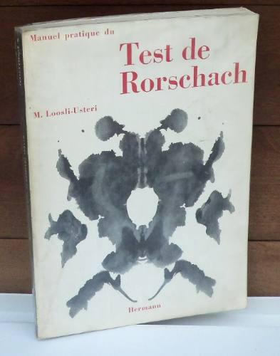 manuel pratique du test de rorschach. m. loosli - usteri.