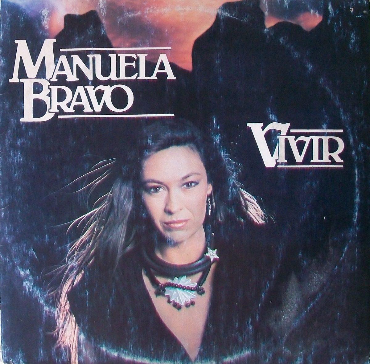 ee788639ce5aa Manuela Bravo - Vivir Disco Vinilo Lp -   243,00 en Mercado Libre