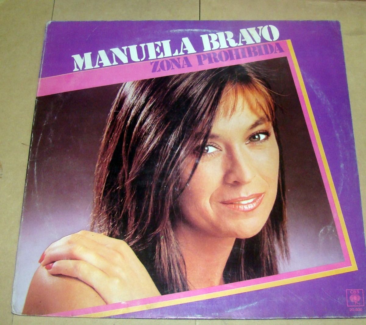 4febb159a25b5 Manuela Bravo Zona Prohibida Vinilo Argentino -   349,60 en Mercado ...