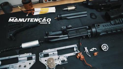 manutenção conserto airsoft rifle, pistolas, aeg, aep, gbb