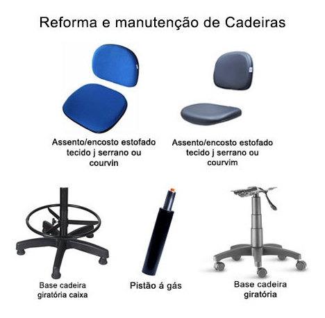 manutenção de cadeiras em geral