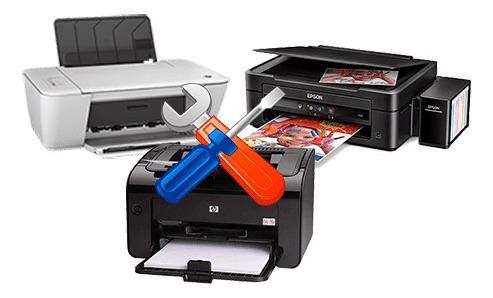 manutenção de computadores, impressoras e scanner