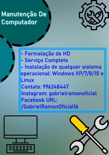 manutenção de computadores (serviço completo) leia o anúncio