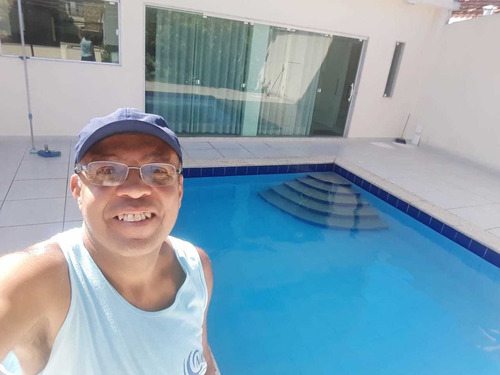 manutenção de piscina.