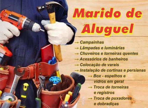 manutenção doméstica, reformas e reparos