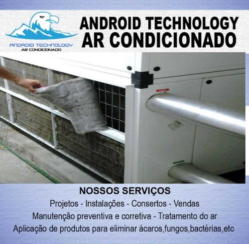 manutenção e conserto de equipamentos de ar condicionado