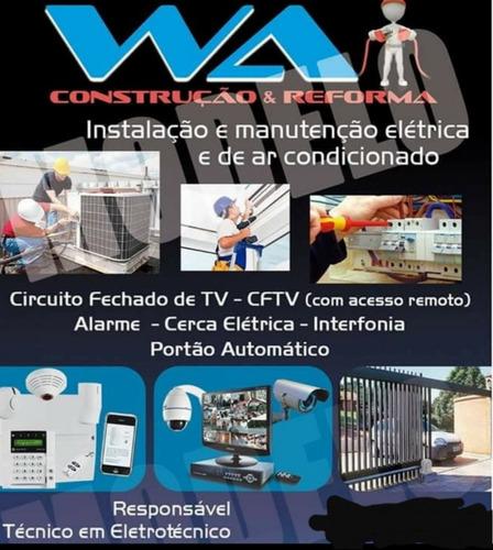manutenção e instalação eletrica e ar condicionado