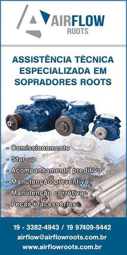 manutenção e locação de sopradores roots lóbulares robuschi